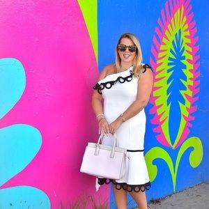 Eloquii one shoulder dress